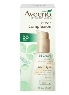 Aveeno Clear Complexion BB Cream Launches at Drugstores