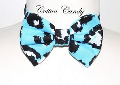 Jay Nicole's Bows Pre-tied Cotton Cotton CandyAdjustable Neckband