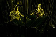 Neon Lighting Topography by Swedish artist Janne Parviainen - Socialphy Slow Shutter Speed Photography, Exposure Lights, Long Exposure, Light Painting Photography, Colossal Art, Light Installation, Art Installations, Light Art, 3d Light