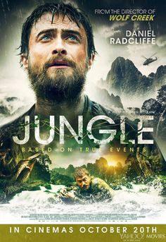 Daniel Radcliffe - New UK poster for Jungle!!