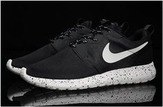 9692110e0bd66 2015 Nike Roshe Run HYP QS 3M Luminous Lovers Shoes Mens Sneakers Black  Sole Ink Splash Online