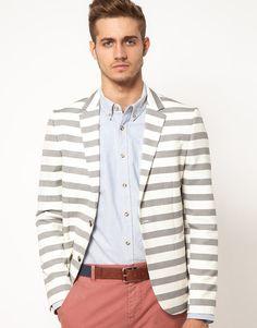 ++ blazer . brenton stripe