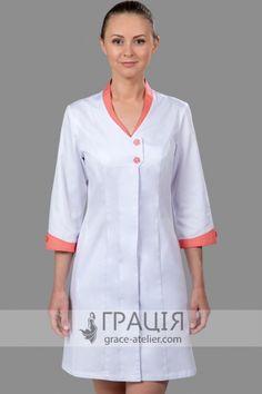Nursing Dress, Nursing Clothes, Doctor Work Outfit, Dental Uniforms, Scrubs Pattern, Doctor Coat, Scrubs Uniform, Blouse Batik, Medical Scrubs
