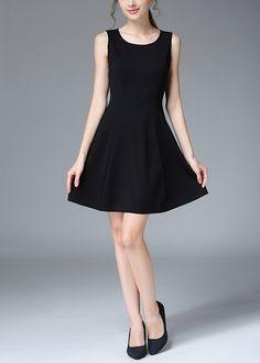 Compre Vestido Curto Rodado na Loja Online UFashionShop