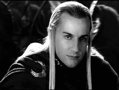 Craig Parker as Haldir in The Lord of the Rings--as stated before, he's my favorite Tolkien character.