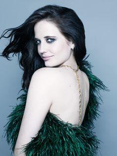Elle Russia Fashion Portraits Beauty Eva Green