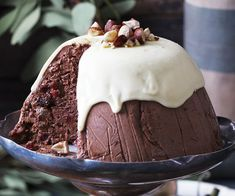 Traditionally, Australians cooked English-style puddings at Christmas but, although we love them, a lighter pudding is more suited to a hot climate; hence the Great Australian Christmas Pudding was created  light, creamy and cool.