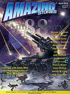 Frank Wu, The final issue and 88th anniversary of Amazing Stories (April 2014).