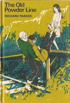 VINTAGE KIDS BOOK The Old Powder Line