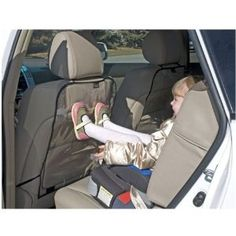 (Auto Seat Back Protector 2 Pack) $4.10 Absolutely Great The product was easy to install and is protecting my seats very nicely. No one sitting in the front seats has noticed them at all.... [Click for more info]