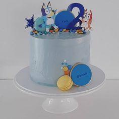 Images about #blueycake on Instagram Happy 2nd Birthday, Birthday Ideas, Baby Boy, Party Ideas, Tv, Cake, Instagram, Television Set, Kuchen