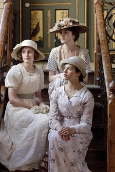 Downton Abbey - I would seriously wear these dresses if I could. sooo pretty!
