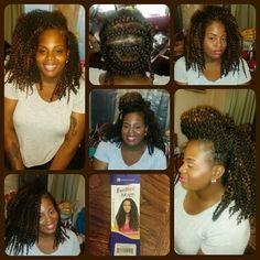Samba Crochet Hair Styles : Crochet hair styles, Crochet hair and Samba on Pinterest