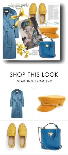 """""""My power look"""" by marinadusanic ❤ liked on Polyvore featuring Lanvin, Brixton, castro, Mark Cross and Crate and Barrel"""
