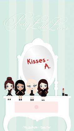 Pretty Little Liars Dolls iPhone Wallpaper @PanPins