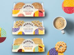 Border Biscuits design by Coley Porter Bell