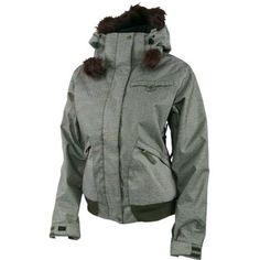 wonder if they have other colors Snow Fashion, Fashion Beauty, Fashion Show, Fashion Outfits, Womens Snowboard Jacket, Snowboarding Gear, Cool Style, My Style, Winter Sports