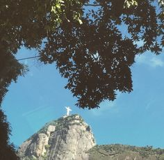 @cantao Travel Goals, Half Dome, My World, Brazil, Mountains, City, Places, Nature, Christ The Redeemer