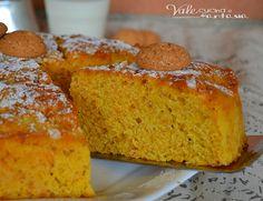 Torta di carote e amaretti ricetta senza burro buonissima soffice,umida si scioglie in bocca, una torta golosa ma leggera perchè è senza burro