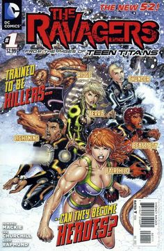 Ravagers (2012 DC) 1A