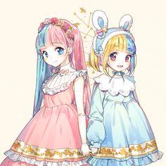 『沫沫』动漫原创 插画手绘 二次元 少女 唯美 萌 lolita