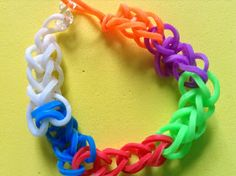 Flame: Creative Children's Ministry: Loom Band Prayer Bracelet
