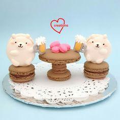 Loving Creations for You: Cheery Bear Macarons Again!