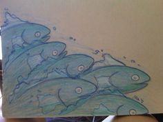 ponyo fish sketch