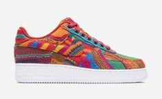 The Coogi Sweater Covers this Nike Air Force 1 Low