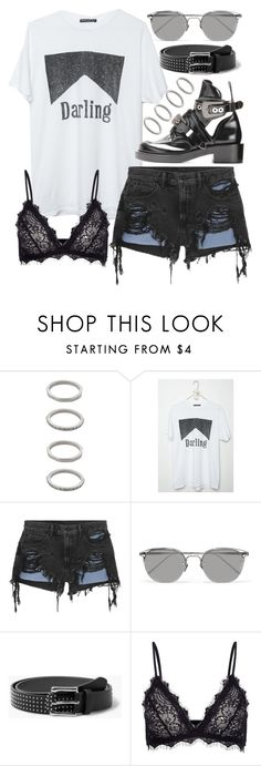 """Untitled #20023"" by florencia95 ❤ liked on Polyvore featuring Forever 21, Alexander Wang, Linda Farrow, MANGO and Anine Bing"