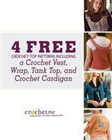 Free pattern of: crochet vest, wrap, tank top and cardigan
