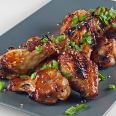 Asian-Spiced Chicken Wings : Halogen Oven Recipes