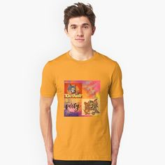 'tom and Jerry cartoon design ' T-Shirt by Madhuri Mahajan Diamond Graphic, Billy Ocean, Cartoon Design, Vintage Style Outfits, Tshirt Colors, Cool T Shirts, Female Models, Shirt Style, V Neck T Shirt