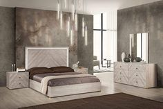 Discover the best coastal bedroom furniture sets, which includes matching coastal beds, beach dressers, coastal headboards, beach nightstands, and more. Twin Bedroom Sets, 5 Piece Bedroom Set, Wood Bedroom Sets, White Bedroom Furniture, King Bedroom, Coastal Furniture, Beach House Bedroom, Bedroom Themes, Florence