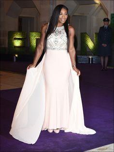 Serena Williams looking stunning at Wimbledon Ball.