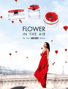 Kenzo - Flower in the Air Perfume - Advertising Campaign