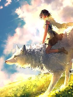 Tribute to my favorite Miyazaki movie of all time. Princess Mononoke portrays the beauty and challenges of co-existing with mother nature so perfectly. It teaches a lesson that we can all learn from. If you haven't seen this classic already, I highly recommend it :)