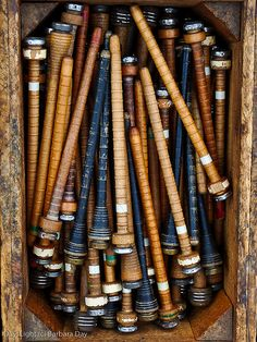 ∷ Variations on a Theme ∷ Collection of spindles