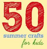 50 kid summer craft projects- link on her page to 100 kids crafts  This summer- stepping stones of kids hand/ foot prints  Succulents in sea shells stc