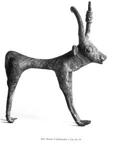 Il reperto nr. 39 della collezione Borowski di antichità sarde. Altezza = 13.3 cm.