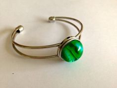 Armspange 1 mit handgedrehtem Chunk Bangles, Bracelets, Headphones, Jewelry, Jewellery Making, On Ear Earphones, Jewels, Jewlery, Bracelet