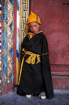 young Buddhist.