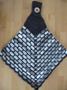 Mitered Ballband Hanging Towel by Suzanne deSalme