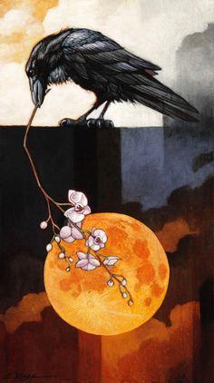Harvest Moon October by Craig Kosak