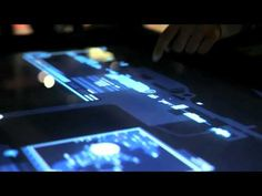 GestureTeks Multi-Touch Table Brings the Multi-Touch Interface from Quantum of Solace to Life.