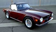 SUPERCHARGED-1973-TRIUMPH-TR-6-RUST-FREE