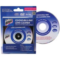 ENDUST 262000 CD-DVD-Blu-ray Disc(R)-Game Console Lens Cleaner