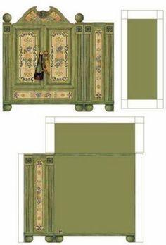 Des meubles miniatures à imprimer