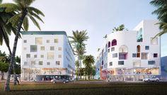 Kaupunki . Ensemble immobilier hôtel et bureaux à Cotonou, Benin (2013)