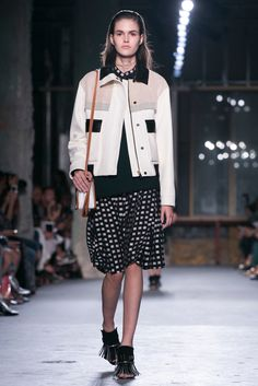 A look from the Proenza Schouler Spring 2015 RTW collection.